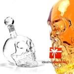 Butelka czaszka